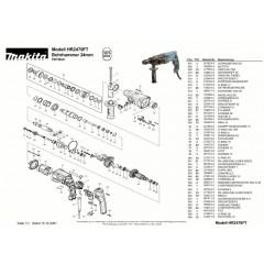 Ανάλυση εργαλείου MAKITA HR2470FT