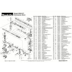 Ανάλυση εργαλείου MAKITA HR2811FT