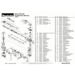 Ανάλυση εργαλείου MAKITA HR3210C