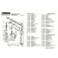 Ανάλυση εργαλείου MAKITA HR3850B