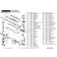 Ανάλυση εργαλείου MAKITA HR4010C