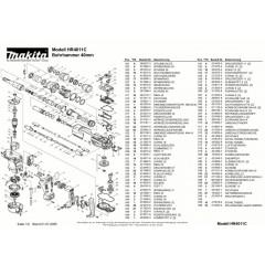 Ανάλυση εργαλείου MAKITA HR4011C
