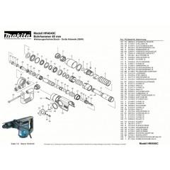 Ανάλυση εργαλείου MAKITA HR4040C