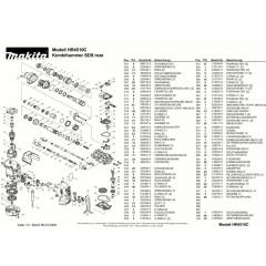 Ανάλυση εργαλείου MAKITA HR4510C