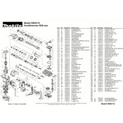 Ανάλυση εργαλείου MAKITA HR4511C