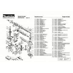 Ανάλυση εργαλείου MAKITA HR5000