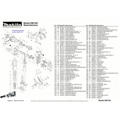 Ανάλυση εργαλείου MAKITA HM1303
