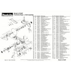 Ανάλυση εργαλείου MAKITA LH1040F