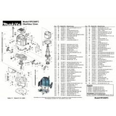 Ανάλυση εργαλείου MAKITA RP2300FC