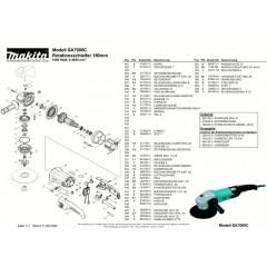Ανάλυση εργαλείου MAKITA SA7000C