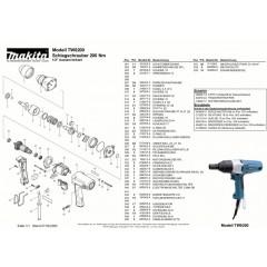 Ανάλυση εργαλείου MAKITA TW0200