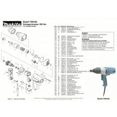 Ανάλυση εργαλείου MAKITA TW0350