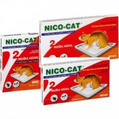 Πιάτο Ποντικιών με Κόλλα NicoCat