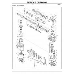 Ανάλυση εργαλείου MAKITA HR4002