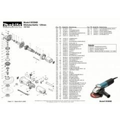 Ανάλυση εργαλείου MAKITA 9558NB