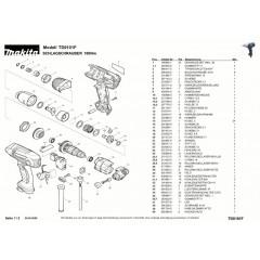Ανάλυση εργαλείου MAKITA TD0101F