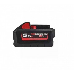 MILWAUKEE M18 HB5.5 ΜΠΑΤΑΡΙΑ ΥΨΗΛΗΣ ΑΠΟΔΟΣΗΣ 5.5ΑΗ 4932464712