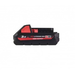 MILWAUKEE M18 HB3 ΜΠΑΤΑΡΙΑ ΥΨΗΛΗΣ ΑΠΟΔΟΣΗΣ 3.0ΑΗ 4932471069