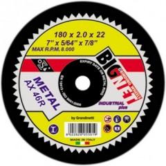 Bignet A 125/1.0/22 πέτρα κοπής λειάνσης ανοξείδωτου σιδήρου AX64R Easy Cut