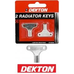 DEKTON DT3090 Σετ 2 κλειδιων εξαέρωσης καλοριφέρ