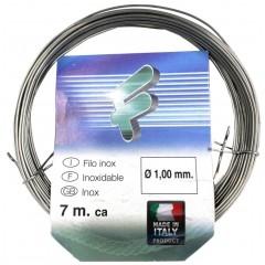 FiloInox HIN100 Κουλούρα σύρμα ανοξείδωτο 1χιλ παχος 7 μέτρα