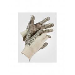 Γάντια Βαμβακερά Με Κοκκους Cotton Dot Νο10