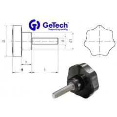 Getech V7M Πόμολο μαργαρίτα με αρσενικό πάσο