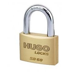 HUGO SB 20 62273 Λουκέτο μπρούτζινο ασφαλειας με 2 κλειδιά
