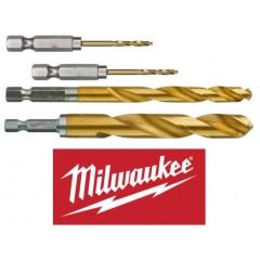 "Milwaukee 48894703 Τρυπάνια 1/4"" εξάγωνης υποδοχής για παλμικά κατσαβίδια"
