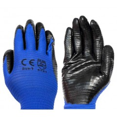 PASCO TOOLS Γάντια εργασίας Νιτριλίου με ραβδώσεις