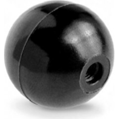 Σφαιρικό πόμολο από βακελίτη με θηλυκό πάσο 01SSF