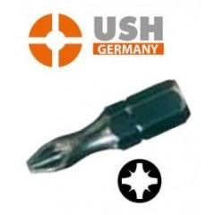 "USH μύτες σταυρού pozidriv 1/4"""