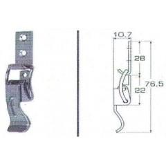 Ανοξείδωτος καταβάτης M8053A Inox A4
