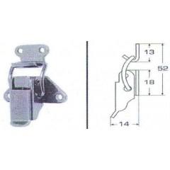 Ανοξείδωτος καταβάτης M8053D Inox A4