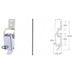 Ανοξείδωτος καταβάτης M8053O Inox A4