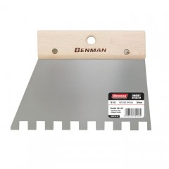 Benman 70921,70922,70923 Σπάτουλα Πλακάδων με τετράγωνο Δόντι