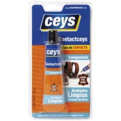 Ceys ContactCeys Transparente Ισχυρή ελαστική διαφανής βενζινόκολλα