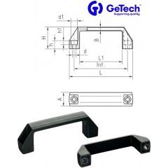 Getech MPP Χερούλι Νάιλον τύπου Π με διαμπερής τρύπες