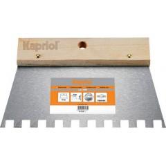 Kapriol Σπάτουλα εφαρμογής κόλλας πλακιδίων με δόντι 20cm
