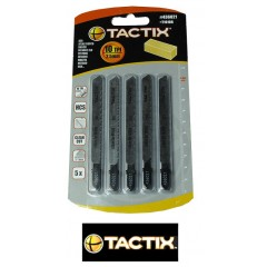 Tactix 436021 Λάμα Σέγας Ξύλου  Σετ 5 Τεμ. Ψιλό Ανάποδο Δόντι 100mm