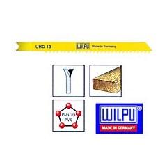 WILPU UHG 13 Λάμες σέγας για Ξύλο και Πλαστικό 75mm με κούμπωμα τύπου BLACK&DECKER (5 τεμ.)