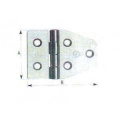 Ανοξείδωτοι μεντεσέδες ρόμβου κοφτοί ART852 Inox A4