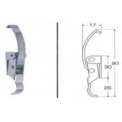 Ανοξείδωτος καταβάτης M8053C Inox A4