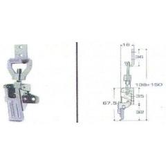 Ανοξείδωτος καταβάτης M8053M Inox A4