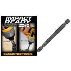 "Dewalt Impact Ready τρυπάνια 1/4"" υποδοχής με προ τρύπημα."
