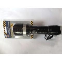 Quality Φακός χειρός 1W Βαρέως τύπου Heavy Duty Zoom Flashlight