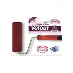 Ρολο Βαφής Olympian Velour Red