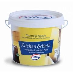 Vitex Kitchen and Bath Πλαστικό χρώμα κατάλληλο για προστασία από μούχλα και μύκητες