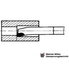 Wemer Wilke  Μαχαίρι Τόρνου Τρύπας ξεχονδρίσματος R3 P30 K/10 DIN 4974 ISO 9