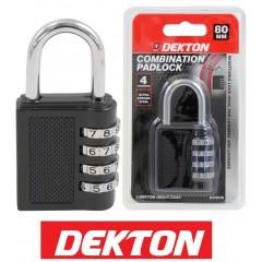 DEKTON DT70170 Λουκέτο συνδιασμού 80χιλ
